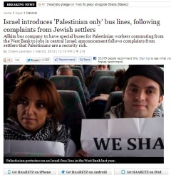 Haaretz Palestinian only