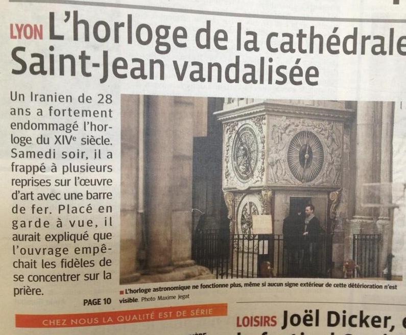 Horloge Saint Jean