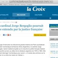 A peine élu, le Pape dans le collimateur de la justice française...