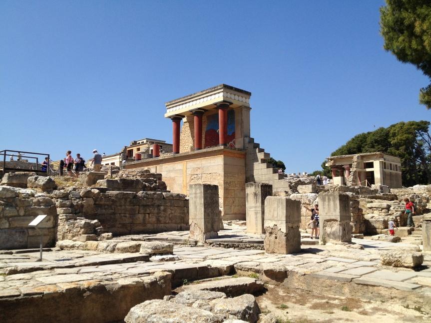 4. Palais minoen de Knossos