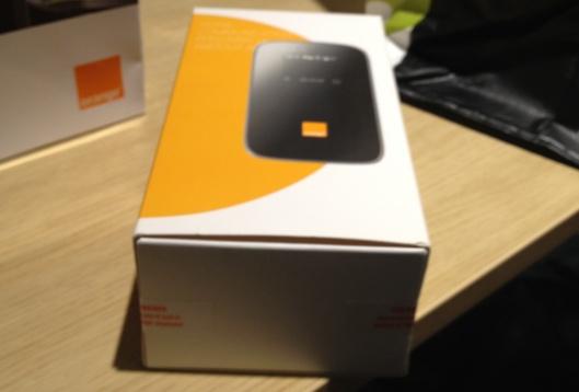 """4G d'Orange: Voici le """"Domino pilote 4G"""" premières images #4GOrange"""