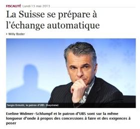 Evasion fiscale _Suisse