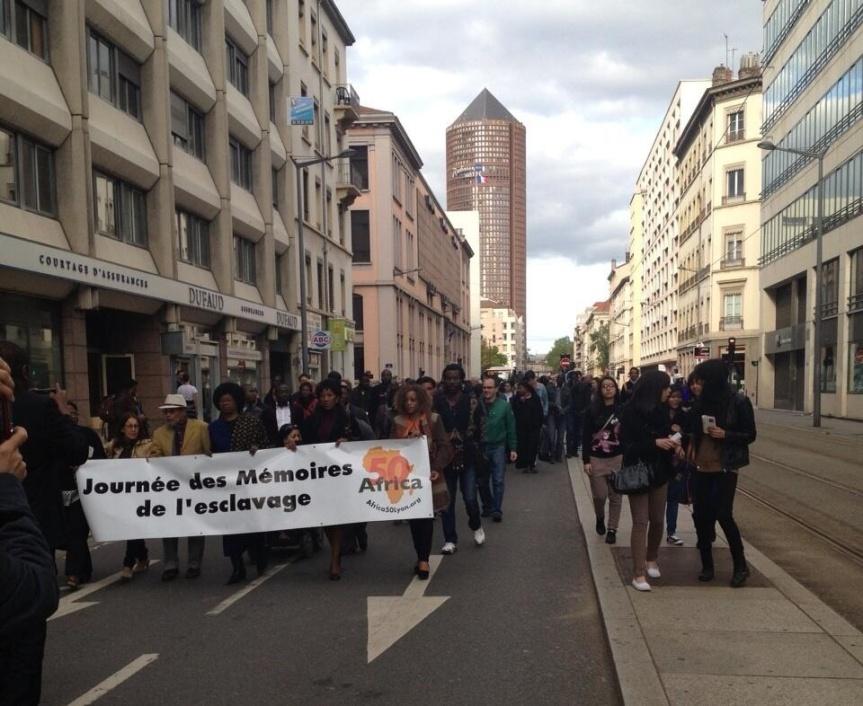 Marche des mémoires à Lyon