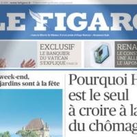Pas à la UNE: le discret vapotage du Figaro-Sofres ...