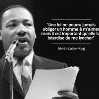 M. Luther King: De l'intérêt de la loi...