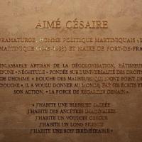 Aimé Césaire: 100 ans...