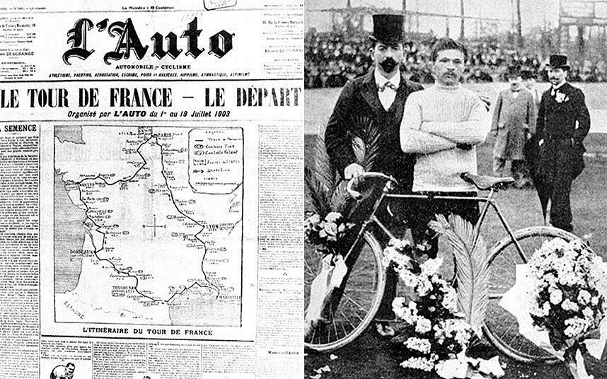 Le 1er tour de France