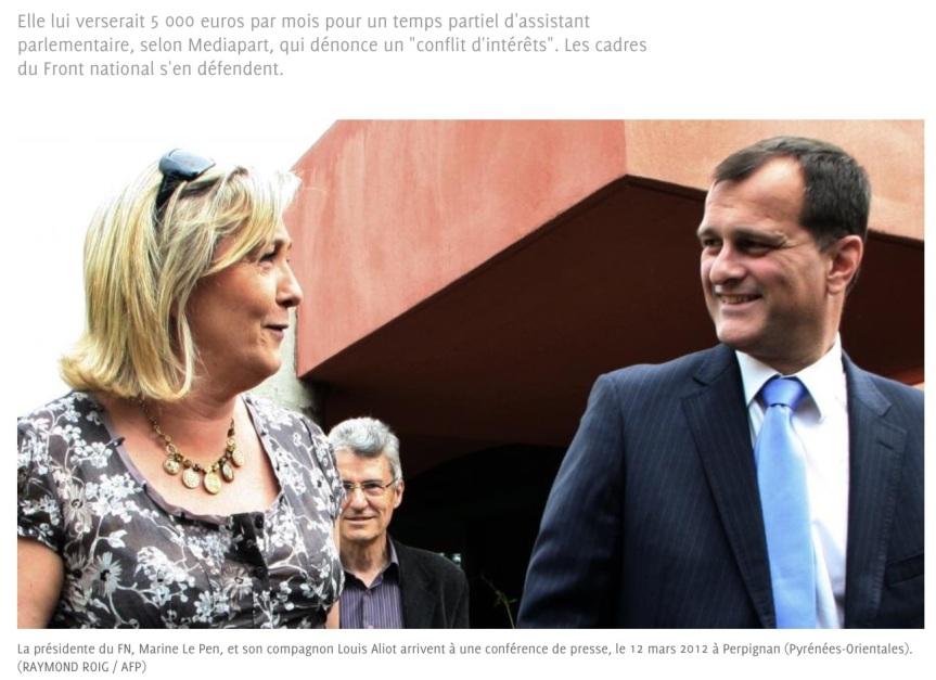 Louis Aliot Le Pen
