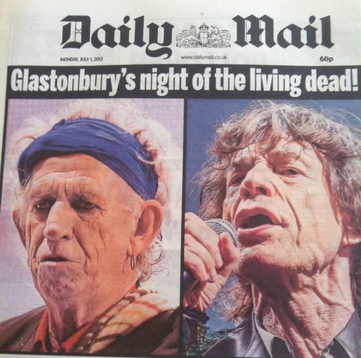 Stones Mick Jagger