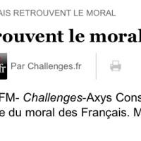 Tiens, les Français retrouvent le moral (Effet croissance)...