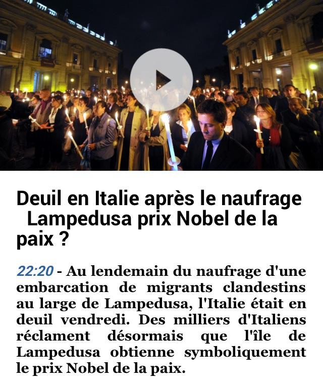 Lampedusa Nobel