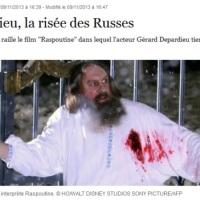 Depardieu: Les russes n'en veulent plus (le Raspoutine'bide)...