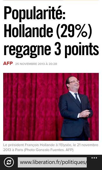 F Hollande 29%