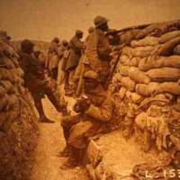 Tranchée (1914): Les poilus noirs... #11novembre
