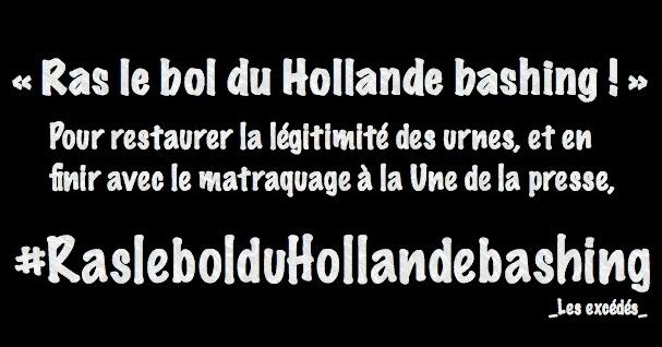 Ras le bol du Hollande bashing