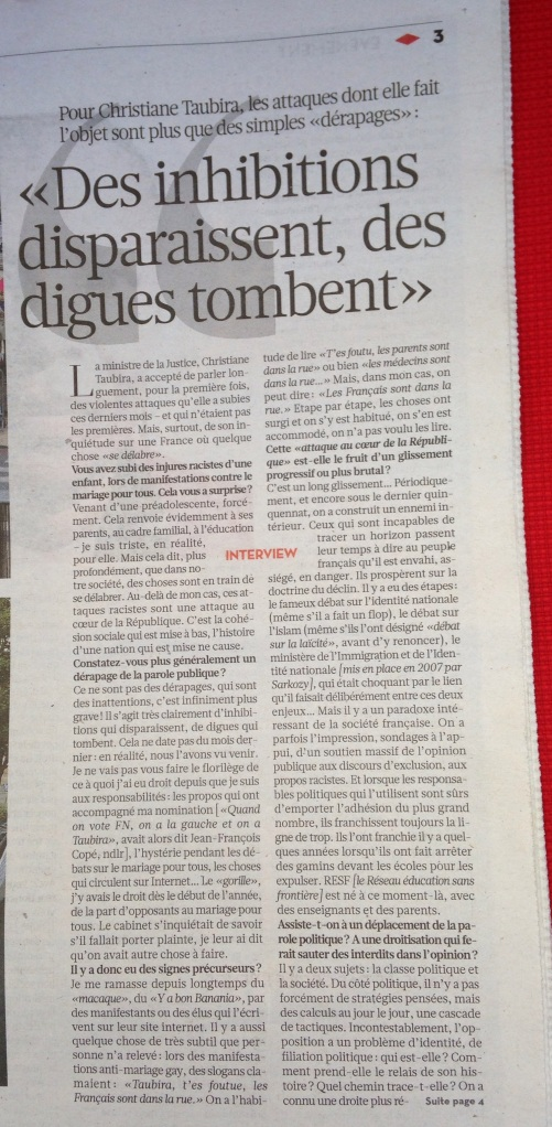 Tribune Christiane Taubira (1)