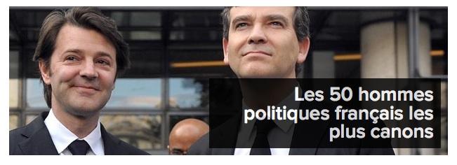 Hommes politique sexy