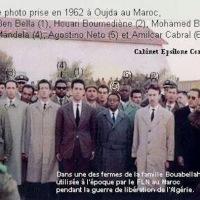 Mandela et la résistance africaine, 1962 (Oujda, Maroc) ...