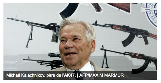 Mikhaïl Kalachnikov est mort