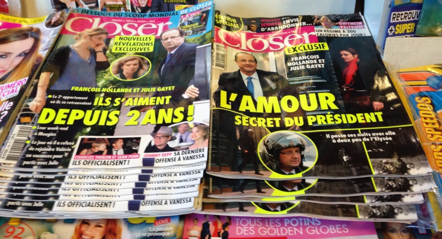 Closer Hollande Gayet