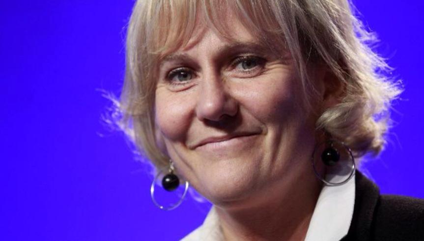 Nadine Morano à Bruxelles