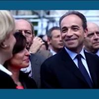 Meeting de Sarkozy au Trocadéro: le sourire radieux de JF Copé...