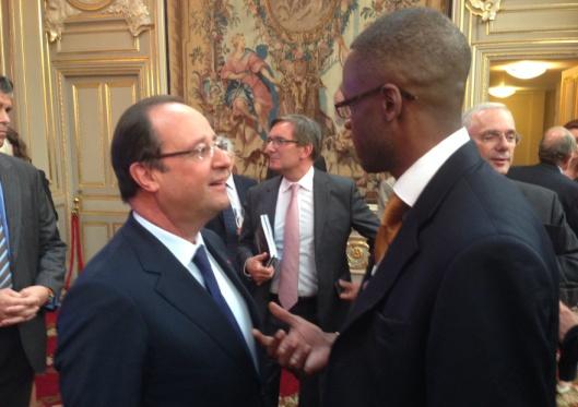 F. Hollande Bembelly Elysée