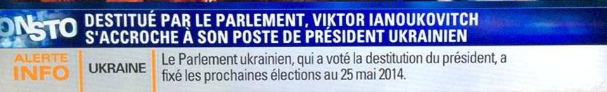 Ukraine Date des élections anticipées