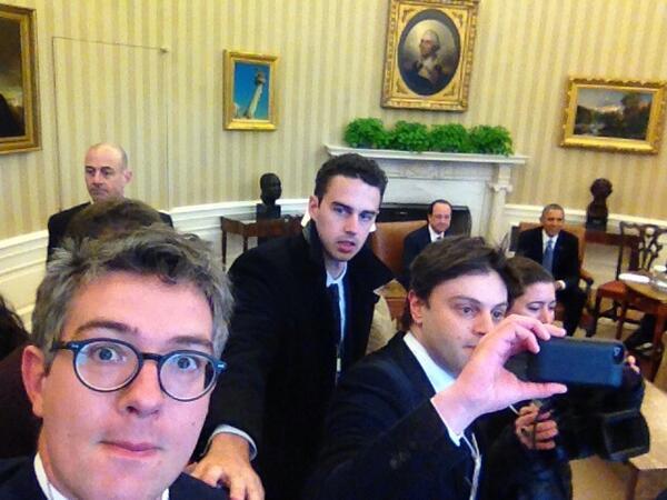 Selfie bureau ovale