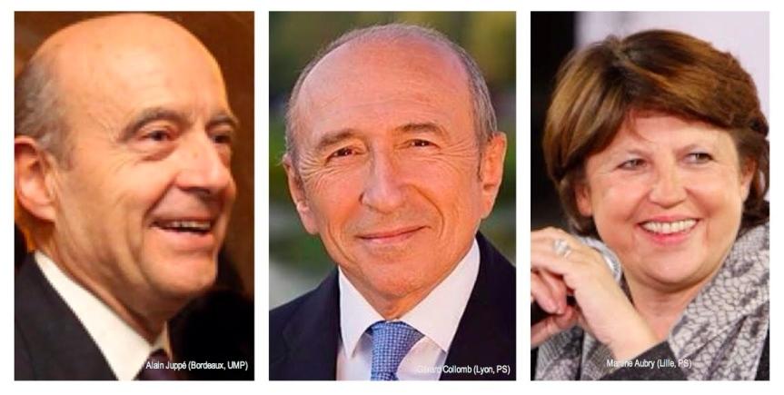 Top 3 Maires de France