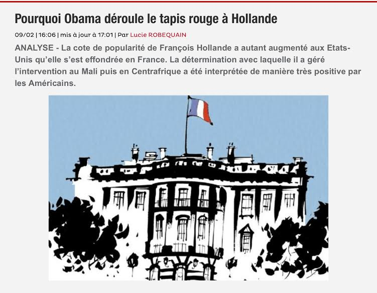 Visite d'Etat François Hollande USA
