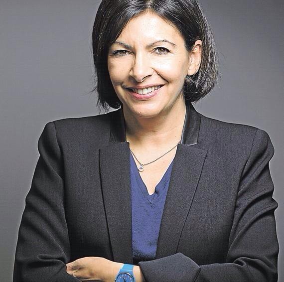 Anne Hidalgo pemière femme élue Maire de Paris