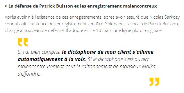 Avocat de patrick Buisson