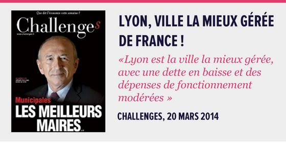 Lyon, Meilleurs ville de France