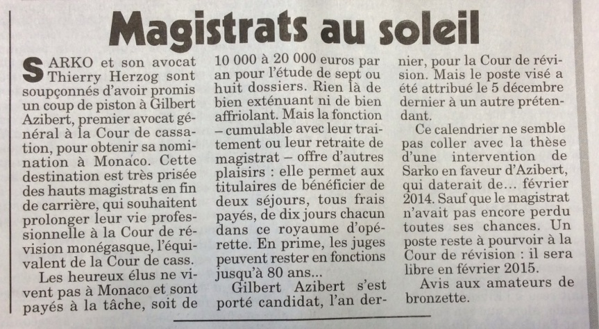 Sarkozy révélations du Canard Enchainé4