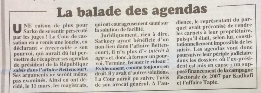 Sarkozy révélations du Canard Enchainé 5