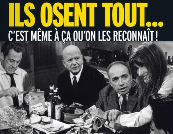 UMP Tonton flingueurs Sarkozy Figaro UNE