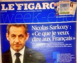 Sarkozy Le Figaro