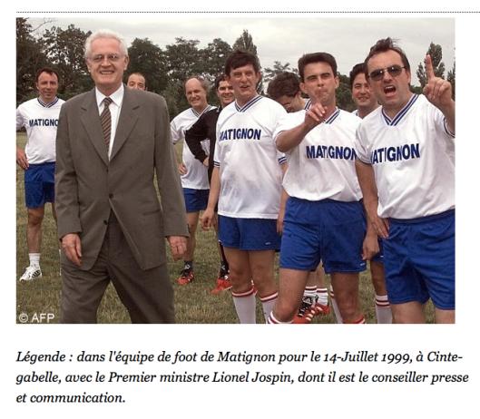 21 avril 2002: Manuel Valls conseiller de Lionel Jospin à Matignon...