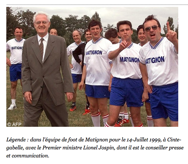 21 Avril 2002 Valls à Matignon