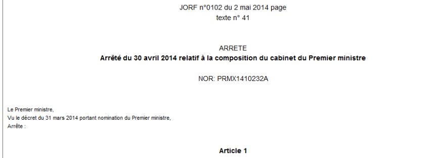 Cabinet Valls