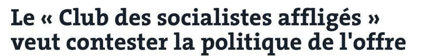 Club des socialistes affligés