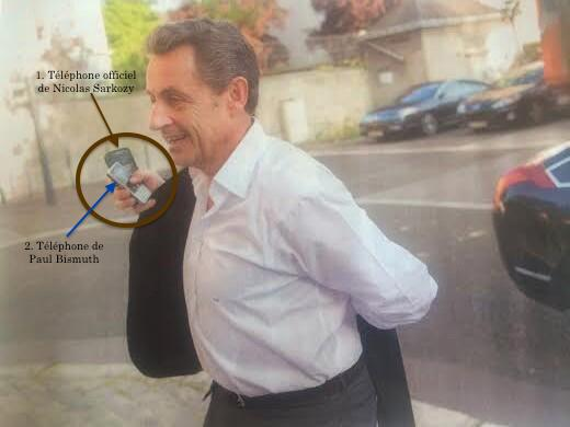 Télephone bis de Sarkozy Tribune le point