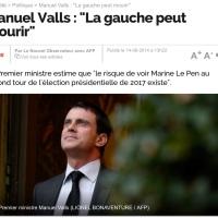Virus (politique): Oui, avec Manuel Valls, la Gauche peut disparaître...