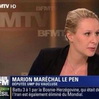 Marion Maréchal Le Pen à l'UMP?...