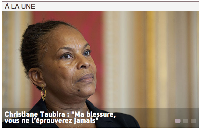 Christiane Taubira Entretien la vie