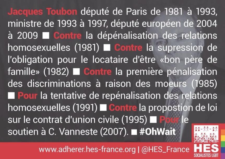 CV Jacques Toubon