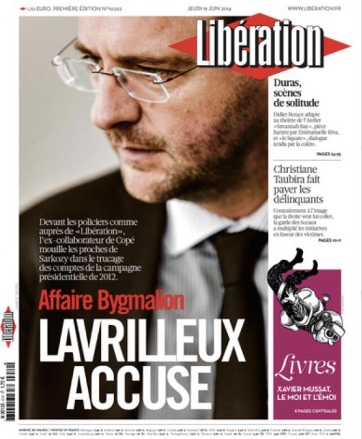Lavrilleux Libération Bygmalion Accuse