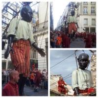 """Quand la ville de Nantes fait danser son """"Géant nègre""""..."""