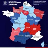 Les 14 régions de France (la nouvelle carte territoriale)...